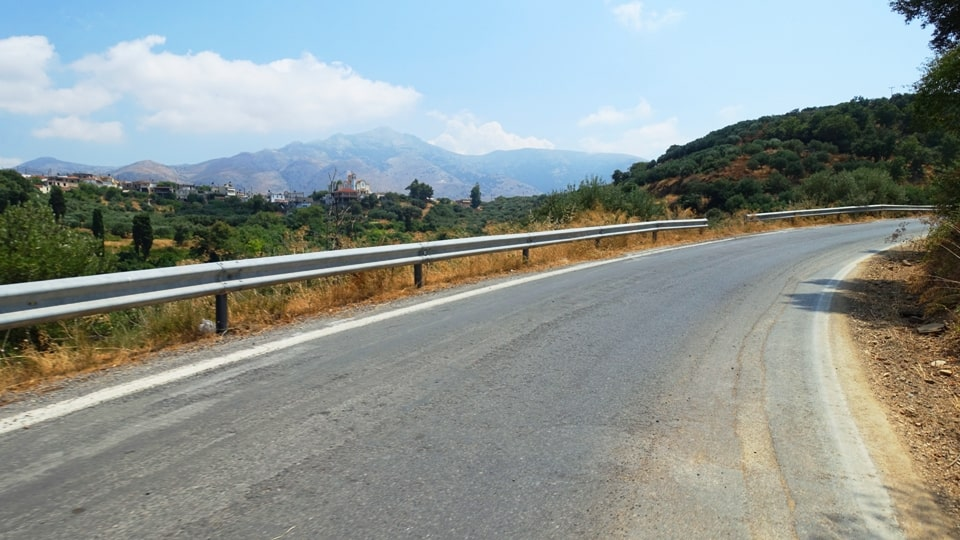 Lyttos climb best strava road cycling segments in Hersonissos Kreta Crete-min