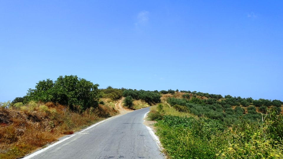 Lyttos climb2 best strava road cycling segments in Hersonissos Kreta Crete-min