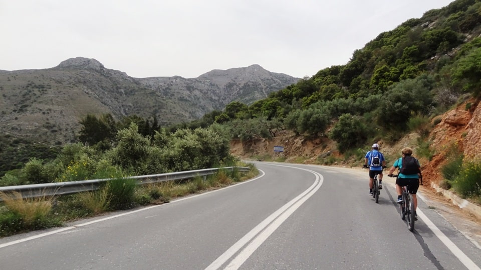 Selena climb best strava road cycling segments in Hersonissos Kreta Crete-min