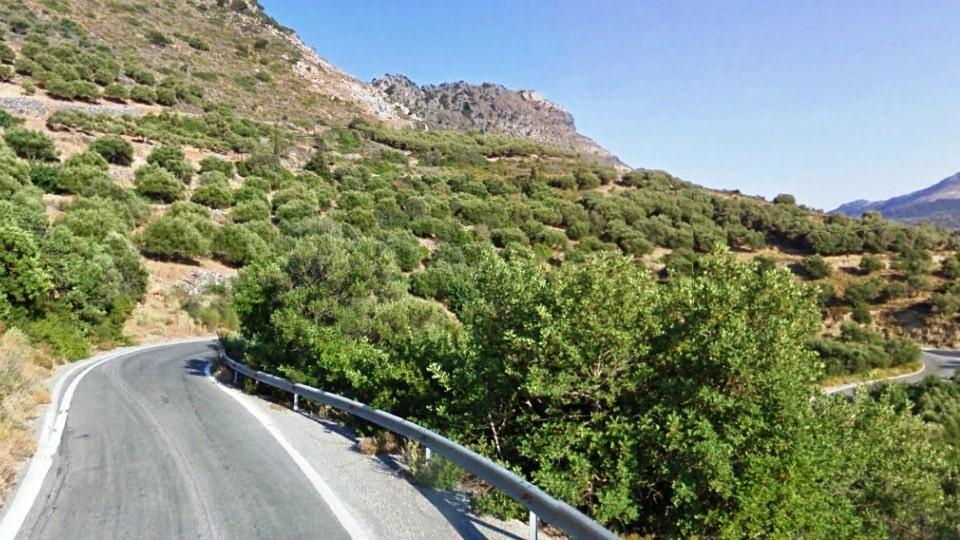 Vrachasi climb best strava road cycling segments in Hersonissos Kreta Crete-min