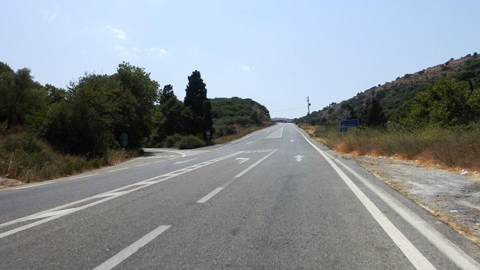kastelli climb best strava road cycling segments in Hersonissos Kreta Crete-min