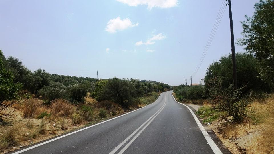 kastelli climb2 best strava road cycling segments in Hersonissos Kreta Crete-min