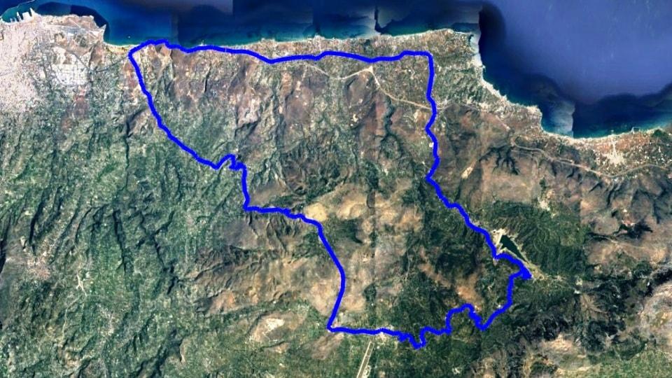 Potamies - Askoi - Kasteli - Smari - Apostoloi - Vathia - Karteros kokkini chani Crete bike rental bike tours ebikes road bikes rennrad verleihen vermietung greece-min