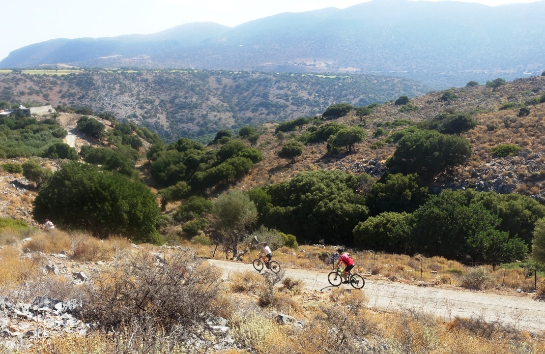 Lagoon ebike tour Crete Hersonissos Malia Stalis Analipsi Gouves Cube reaction bikes-min
