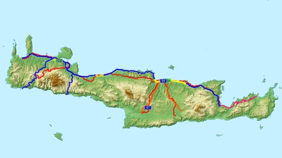 are the roads of Crete good for cycling-Are the roads of Crete good for cycling?