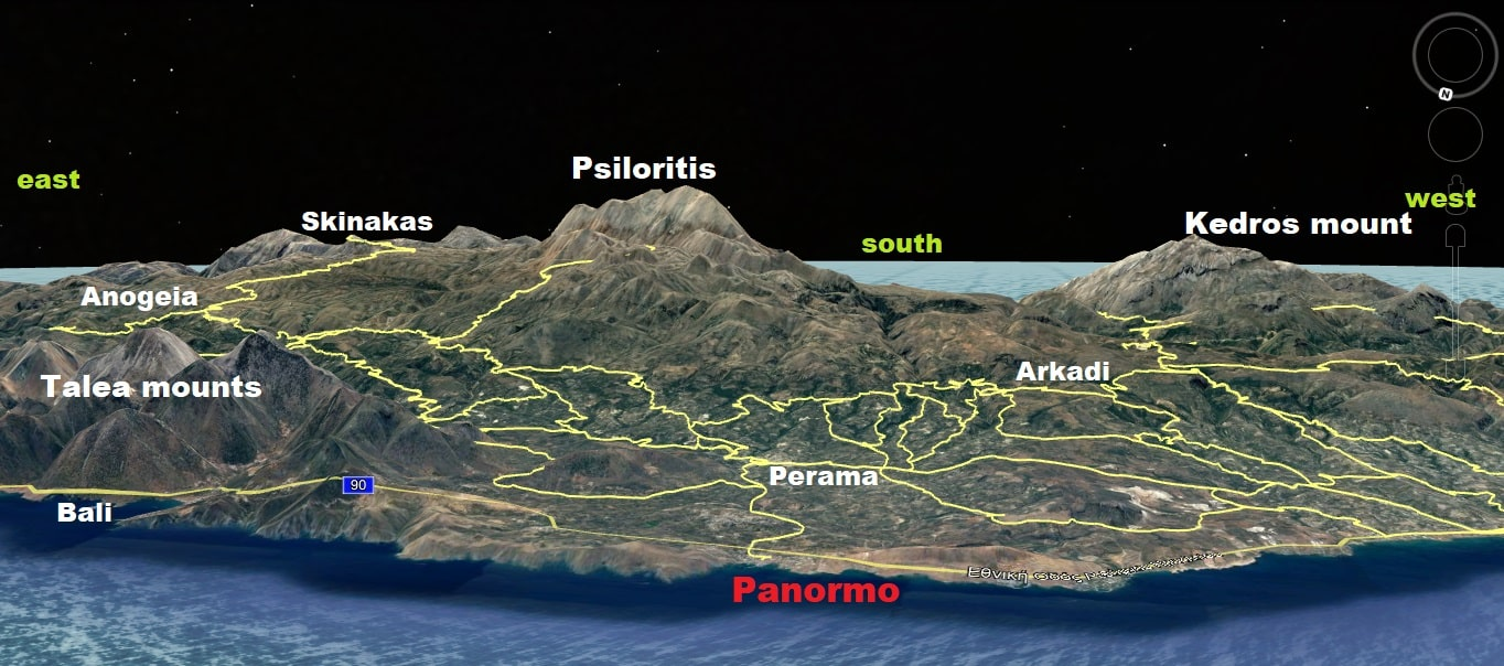 is Panormo good for cycling map crete 3d-min