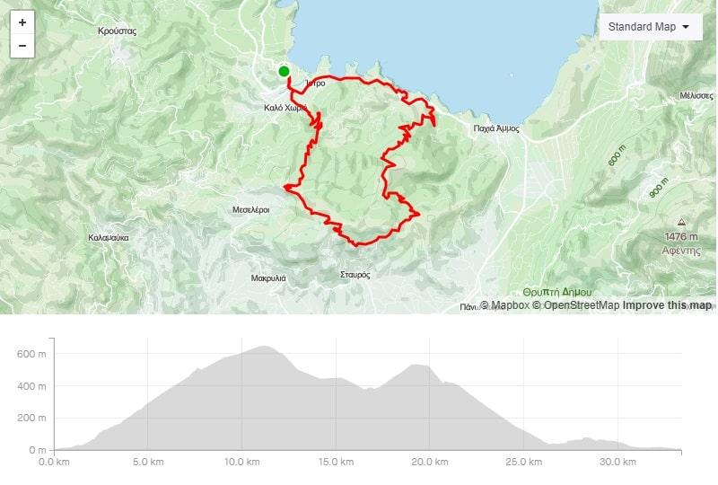 istro Faneromeni mtb bike route to download crete-min