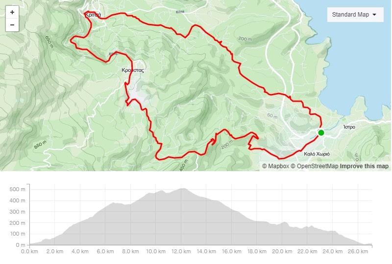 istro Kroustas Kritsa mtb bike route to download crete-min